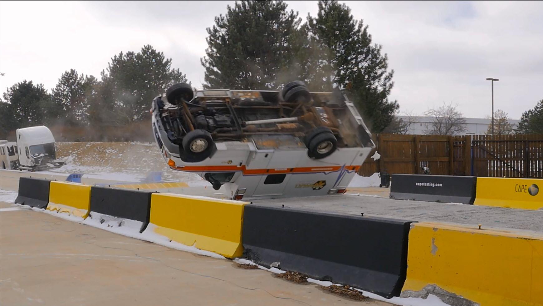 Braun Ambulance Crash Test