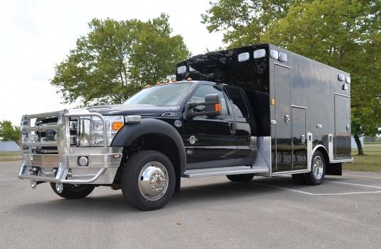 Buchanan County EMS Braun Ambulance to be displayed at FRI 2016.