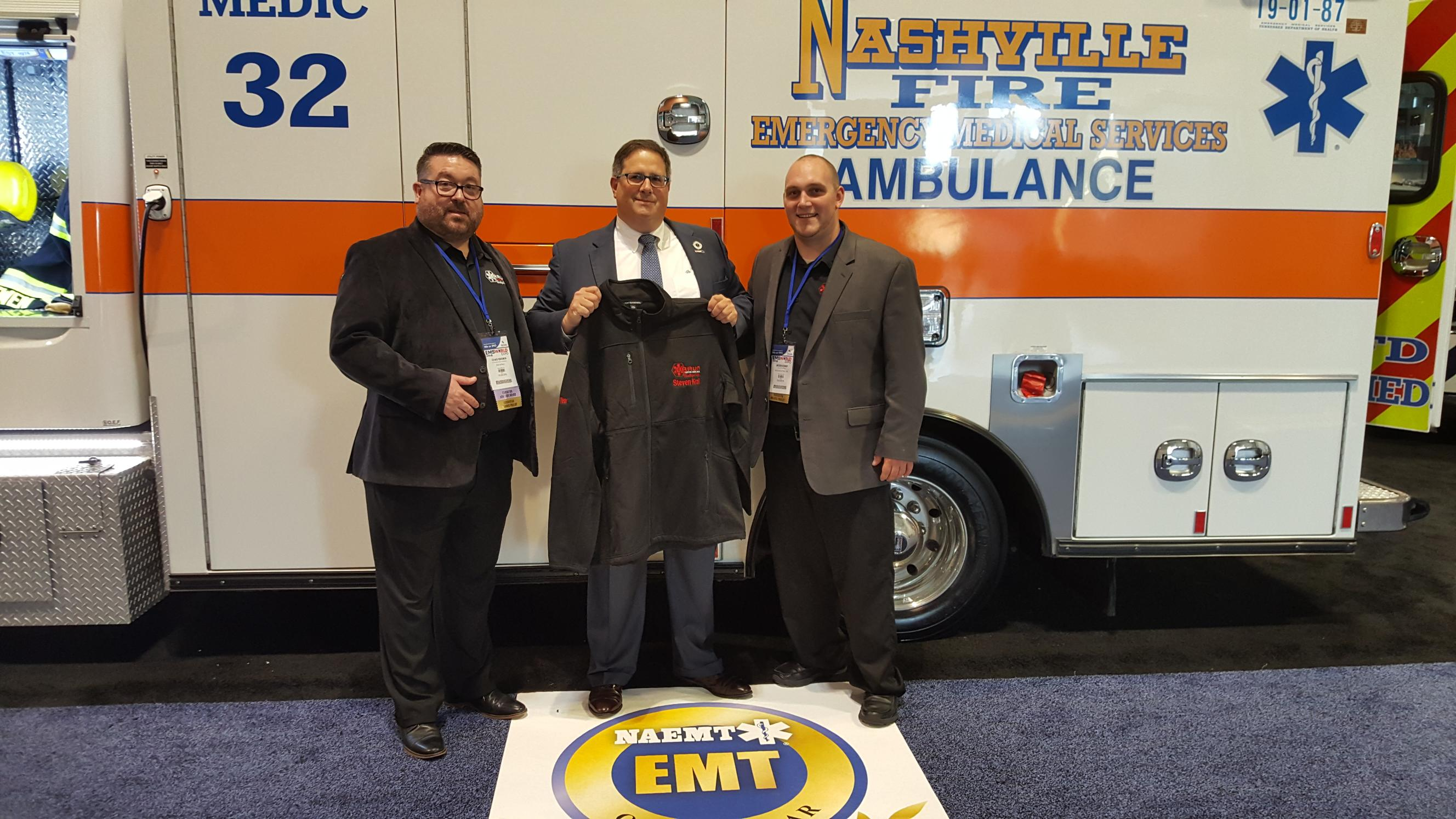 Braun Ambulances Honors 2018 EMT of the Year
