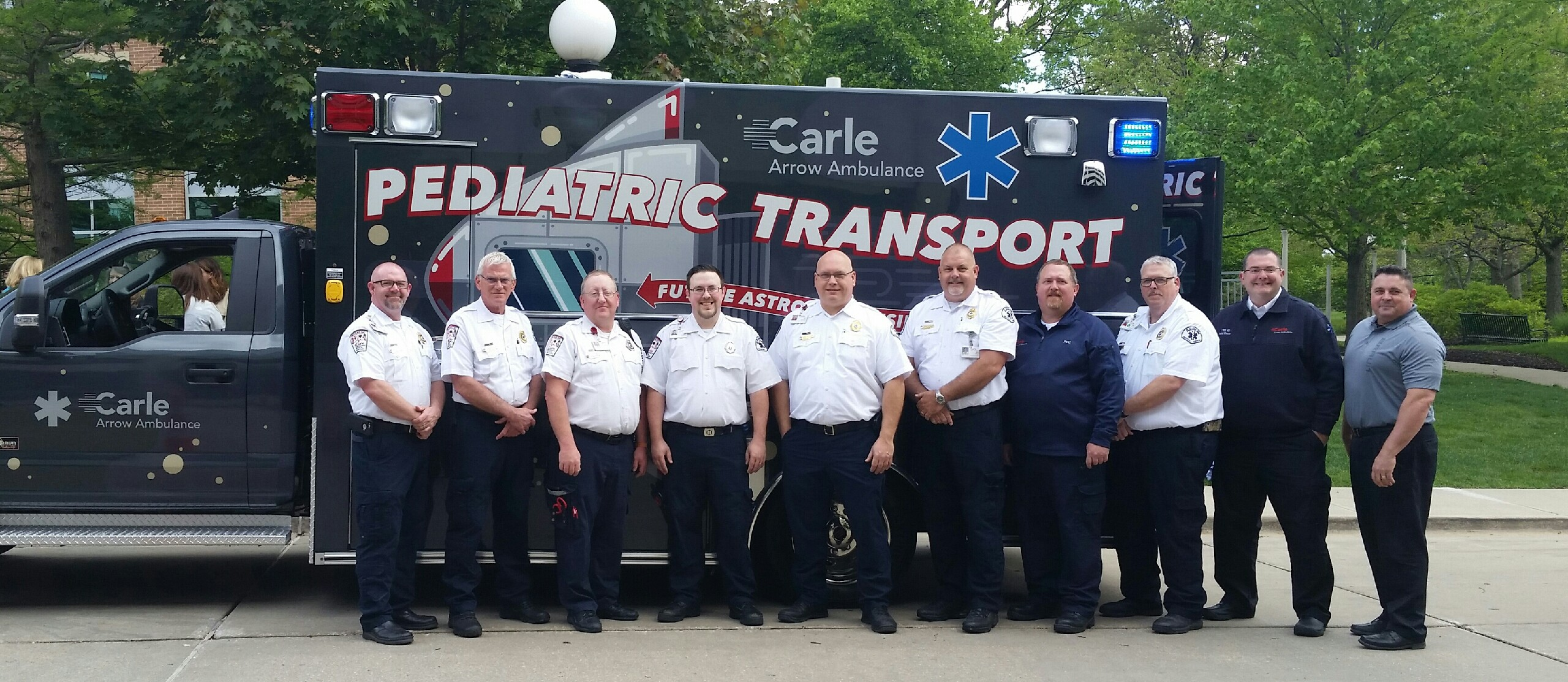 Specialty Care Transport Vehicle Delivered to Carle Arrow