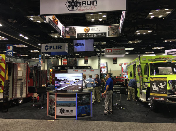 Ohio Ambulance Manufacturer, Braun Industries, at EMS Today Show