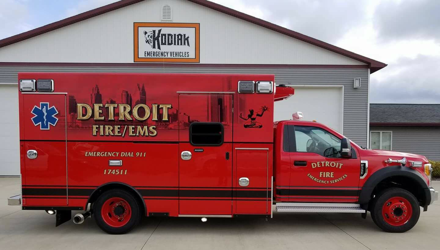 Motown is a Braun Town: Detroit selected Braun as New Ambulance Manufacturer for 49 units