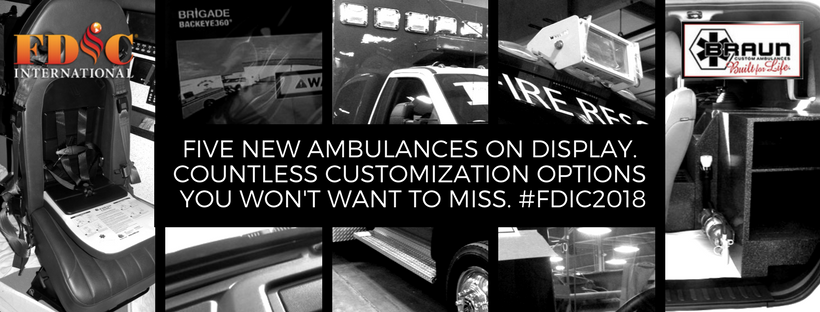 The Five New Ambulances Headed to FDIC 2018