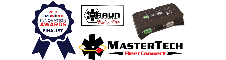 Braun Ambulances' MasterTech FleetConnect Recognized as EMS World Innovation Award Finalist