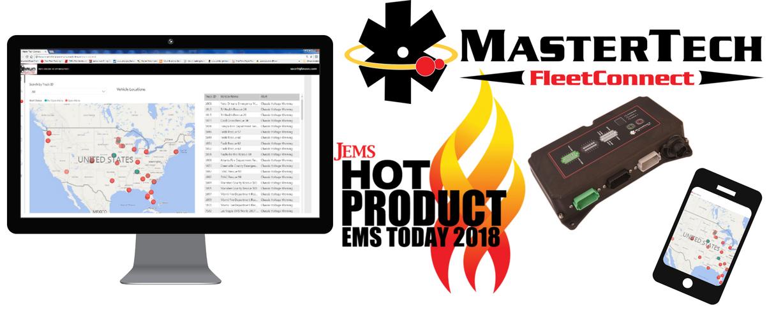Smart Technology for Braun Ambulances Wins 2018 JEMS Hot Product