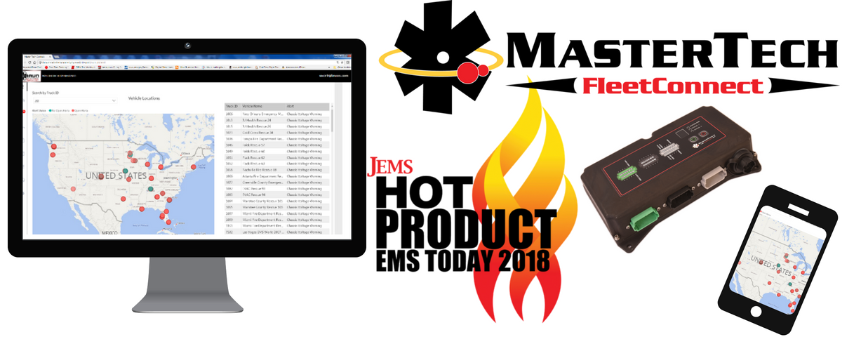 Smart Technology for Braun Ambulances Wins 2018 JEMS Hot Product