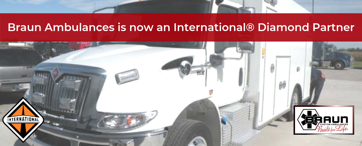Braun Ambulances is now an International Diamond Partner