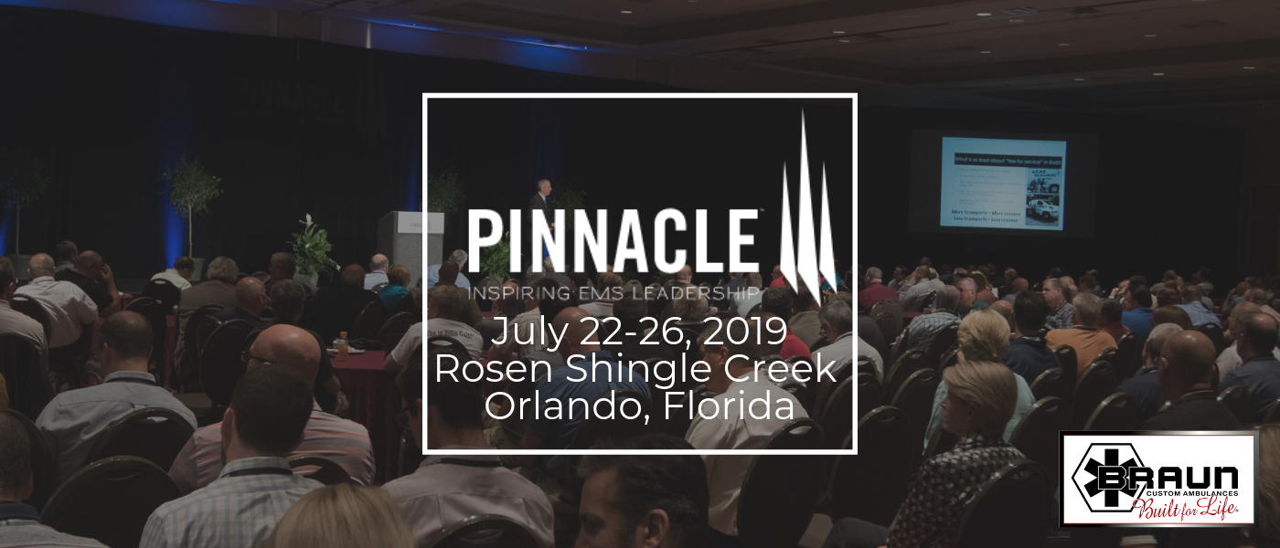 Braun Ambulances will showcase an Express Type III ambulance at Pinnacle 2019